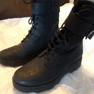 Free People combat boots
